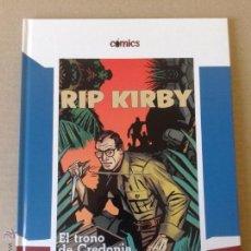 Cómics: RIP KIRBY: EL TRONO DE CREDONIA. COLECCIÓN CÓMICS DE EL PAÍS. CARTONÉ.. Lote 150237325