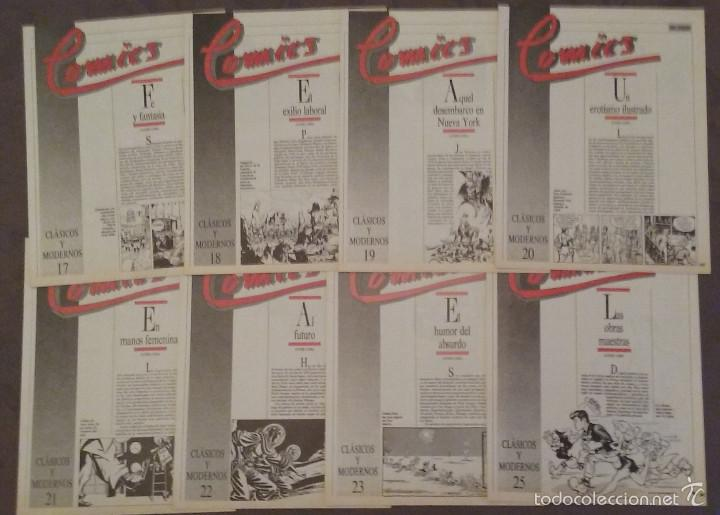 Cómics: COMICS CLÁSICOS Y MODERNOS, 25 FASCÍCULOS EL PÁIS, 1987. FALTA UNO. COMIC - Foto 2 - 56384930