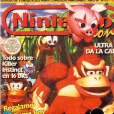 Cómics: REVISTA DE DE NINTENDO SOBRE VIDEO JUEGOS . Lote 60868539