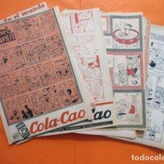 Cómics: LOTE DE COMIC DANIEL EL TRAVIESO - 53 HOJAS DISTINTAS DESDE 1955..65 QUE SALIAN EN LAS REVISTA GARBO. Lote 61607912