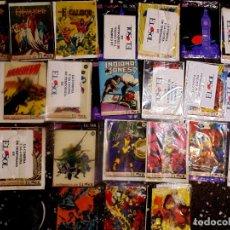 Cómics: LOTE DE 20 SUPLEMENTOS DE LOS COMICS - MARVEL - DE EL SOL - AÑOS 90.. Lote 62706592