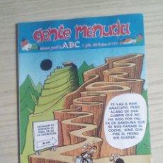 Fumetti: GENTE MENUDA 394 SUPLEMENTO ABC. Lote 63631643