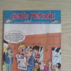 Cómics: GENTE MENUDA 391 SUPLEMENTO ABC. Lote 63785943