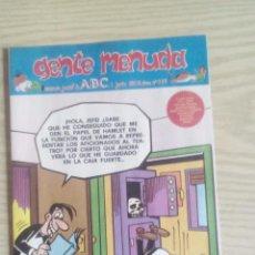 Cómics: GENTE MENUDA 389 SUPLEMENTO ABC. Lote 64000499