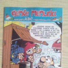 Fumetti: GENTE MENUDA 364 SUPLEMENTO ABC. Lote 64215895