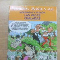 Cómics: MORTADELO Y FILEMON LAS VACAS CHALADAS (IMPRESCINDIBLES DE IBAÑEZ). Lote 68618281