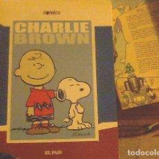 Cómics: CHARLIE BROWN - SCHULZ - EL PAÍS. Lote 69009137