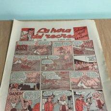 Cómics: SUPLEMENTO LA HORA DEL RECREO Nº 66. LEVANTE 1954. MADORELL, LOPEZ ESPI, VICENTE RAMOS.. Lote 71555363