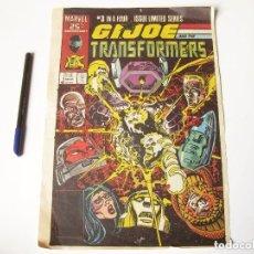 Cómics: CARTEL DE GIJOE. TRANSFORMERS.. Lote 73617419