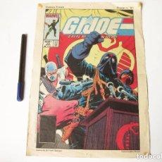 Cómics: CARTEL DE GIJOE. MARVEL. COMICS FORUM. POSTER Nº 81. 1989.. Lote 73617439