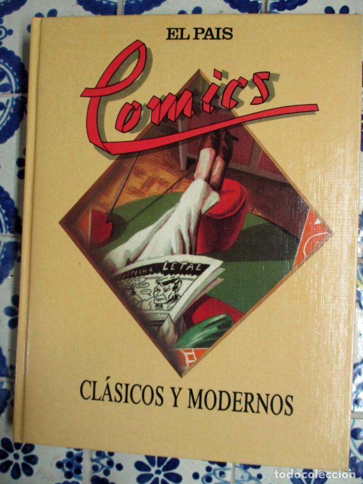 COMICS CLÁSICOS Y MODERNOS. COLECCIONABLE EL PAÍS. ENCUADERNADO (Tebeos y Comics - Suplementos de Prensa)