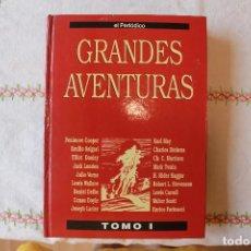 Cómics: GRANDES AVENTURAS, TOMO I, EL PERIÓDICO, ENCUADERNADO, BUEN ESTADO. Lote 78995489