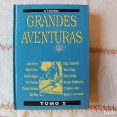 Cómics: GRANDES AVENTURAS, TOMO 2, EL PERIÓDICO, ENCUADERNADO, BUEN ESTADO. Lote 78995721