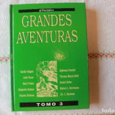 Cómics: GRANDES AVENTURAS, TOMO 3, EL PERIÓDICO, ECUDERNADO, BUEN ESTADO. Lote 78995969