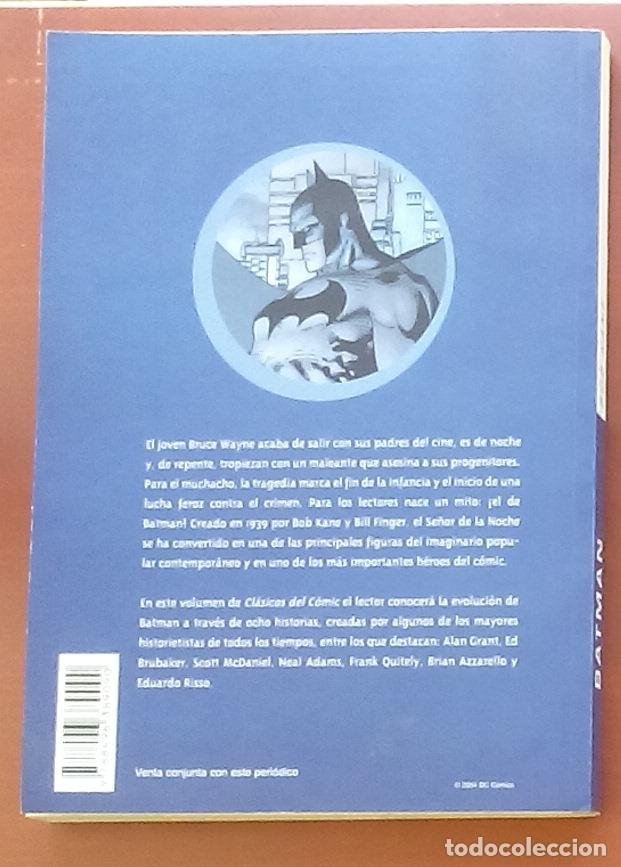Cómics: Clásicos del Cómic: Batman por Finger,Kane,Infantino, Adams.Brubaker,Azzarello,Risso-(2004) - Foto 2 - 82895298