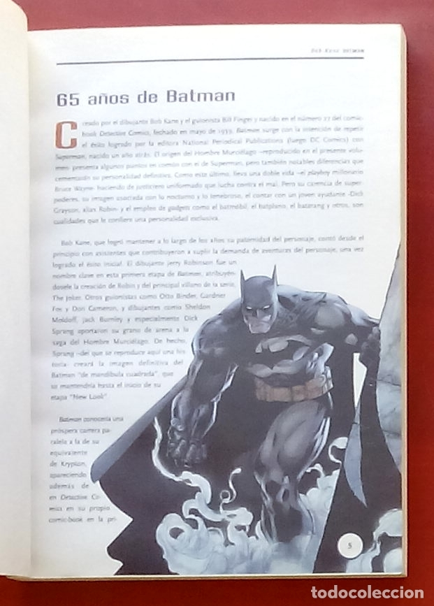 Cómics: Clásicos del Cómic: Batman por Finger,Kane,Infantino, Adams.Brubaker,Azzarello,Risso-(2004) - Foto 3 - 82895298