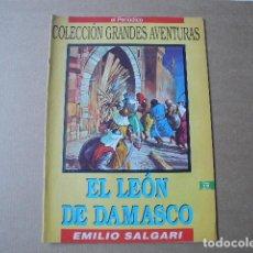 Cómics: EL LEÓN DE DAMASCO. N. 19 VOLUMEN 1 COLECCIÓN GRANDES AVENTURAS. EL PERIODICO. Lote 84295864