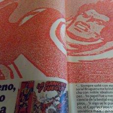 Cómics: LA VANGUARDIA DOMINGO TREINTA AÑOS CON EL CAPITÁN TRUENO. AÑO 1986. RARO.. Lote 85733476