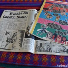 Cómics: INTERVIU ENTREVISTA VÍCTOR MORA Y LA CODORNIZ CON CAPITÁN TRUENO DE BERNAL. AÑOS 70. RAROS.. Lote 87136428
