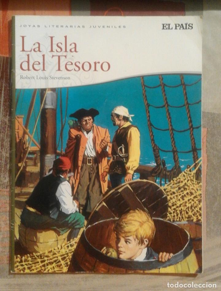 LA ISLA DEL TESORO - ROBERT LOUIS STEVENSON - JOYAS LITERARIAS JUVENILES - EL PAÍS (Tebeos y Comics - Suplementos de Prensa)