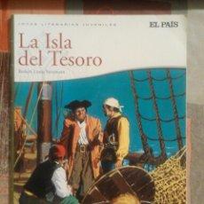 Cómics: LA ISLA DEL TESORO - ROBERT LOUIS STEVENSON - JOYAS LITERARIAS JUVENILES - EL PAÍS. Lote 87903356