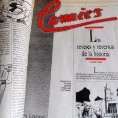 Cómics: COMICS CLÁSICOS Y MODERNOS. JAVIER COMA. EL PAIS. 1988. DIFÍCIL. FASCÍCULOS ENCUADERNADOS. Lote 88462812