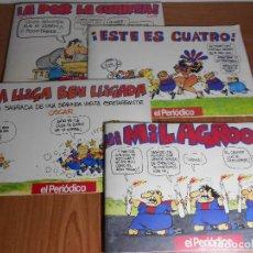 Cómics: LOTE DE 4 COMICS BARÇA (OSCAR) EDIT. POR EL PERIODICO 1994 (A POR LA CUARTA/¡ESTE ES CUATRO!/ ....... Lote 88894668