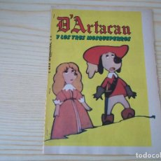 Cómics: COMIC SUPLEMENTOS DE REVISTAS D'ARTACAN Y LOS TRES MOSQUEPERROS EL MOSQUEPERRO D'ARTACAN COMPLETO. Lote 89452856