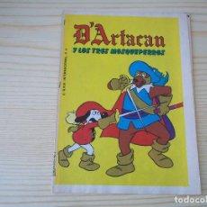 Cómics: COMIC SUPLEMENTOS DE REVISTAS D'ARTACAN Y LOS TRES MOSQUEPERROS D'ARTACAN CONTRA LOS 3 MOSQUEPERROS. Lote 89452988