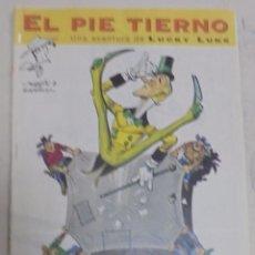 Cómics: EL PEQUEÑO PAIS. EL PIE TIERNO. ENA AVENTURA DE LUCKY LUKE. COLECCIONABLE. Lote 95722031
