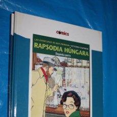 Cómics: LAS AVENTURAS DE MAX FRIDMAN, RAPSODIA HUNGARA,SEGUNDA PARTE COLECCION COMICS EL PAIS Nº 32. Lote 95958291