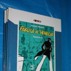 Cómics: HUGO PRATT, FABULA DE VENECIA, SEGUNDA PARTE, COLECCION COMICS EL PAIS Nº5. Lote 95958451