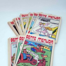 Cómics: GENTE MENUDA PRIMERA ÉPOCA. SUPLEMENTO DE HISTORIETAS DE ABC LOTE DE 48 NºS EL PAÍS, 1976. ESCASO. Lote 96011376