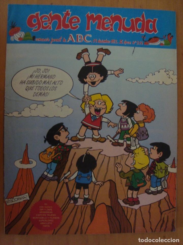 TEBEO GENTE MENUDA Nº 214 (Tebeos y Comics - Suplementos de Prensa)