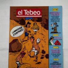 Cómics: REVISTA EL TEBEO Nº 109. CAMINAD CHACALES. MORTADELO Y FILEMON. CECILIA. 13 RUE PERCEBE. TDKC30 . Lote 101480843