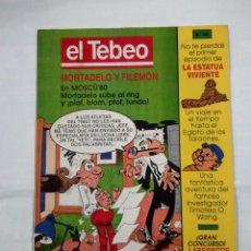 Cómics: REVISTA EL TEBEO Nº 104. MORTADELO Y FILEMON EN MOSCU 80'. 1980. TDKC30 . Lote 101480915