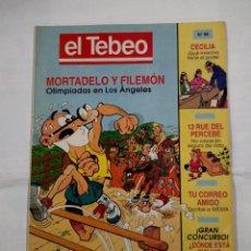 Cómics: REVISTA EL TEBEO Nº 96. MORTADELO Y FILEMON. OLIMPIADAS EN LOS ANGELES. TDKC30 . Lote 101481003