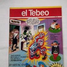 Cómics: REVISTA EL TEBEO Nº 62. MORTADELO Y FILEMON SE HAN METIDO A FUTBOLISTAS. TDKC30 . Lote 101481131