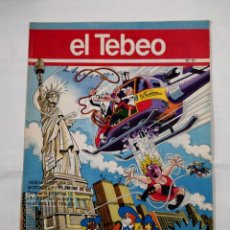 Cómics: REVISTA EL TEBEO Nº 61. MORTADELO Y FILEMON. TIEMBLA LA ESTATUA DE LA LIBERTAD. TDKC30 . Lote 101481187