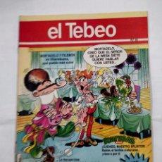 Cómics: REVISTA EL TEBEO Nº 53. MORTADELO Y FILEMON EN VILLARREBUZNO. TDKC30 . Lote 101481231