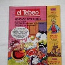 Cómics: REVISTA EL TEBEO Nº 110. MORTADELO Y FILEMON. GATOLANDIA. TDKC30 . Lote 101481291