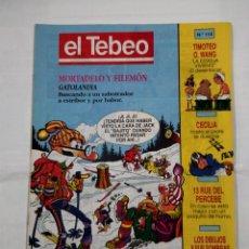 Cómics: REVISTA EL TEBEO Nº 114. MORTADELO Y FILEMON. GATOLANDIA. TDKC30 . Lote 101481327
