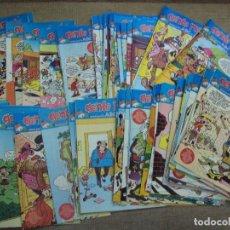 Cómics: 99 NÚMEROS DEL SUPLEMENTARIO SEMANAL ABC, GENTE MENUDA, 1990,TINTIN, BLUEBERRY, CAPITAN TRUENO..... Lote 101696583