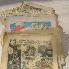 Cómics: EL CUCO SUPLEMENTO DIARIO PUEBLO CASI COMPLETA CON ROBERTO ALCAZAR VER FOTOS Y DESCRIPCION. Lote 103763119