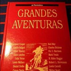 Cómics: GRANDES AVENTURAS. TOMO I. COLECCION GRANDES AVENTURAS. TOMO CON 25 HISTORIAS EN COMIC. EL PERIODICO. Lote 103783891