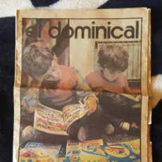Cómics: SUPLEMENTO EL DOMINICAL DE LAS PROVINCIAS - ESPECIAL TEBEO VALENCIANO AÑO 1983 - ÚNICA COPIA EN TC!!. Lote 106628299