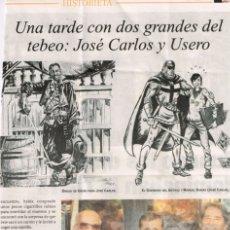 Cómics: TEBEOS Y COMICS EN LA PRENSA: CARLOS GIMENEZ, PACO ROCA + ILUSTRACIONES SATIRICAS USA DE 1886 + ..... Lote 103985551