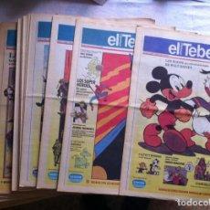 Cómics: COLECCION DE 39 NUMEROS SUPLEMENTO EL TEBEO EL PERIODICO. Lote 108313751