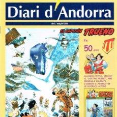 Cómics: DIARI D´ANDORRA.2006.50º ANNIVERSARI CAPITÁN TRUENO.. Lote 108725779