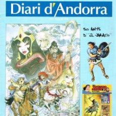 Cómics: DIARI D´ANDORRA.2009.50º ANNIVERSARI EL JABATO... Lote 108725839
